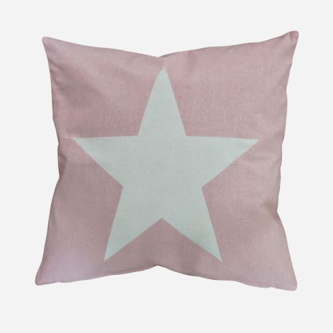 Krasilnikoff Kissenbezug Big Star Pink