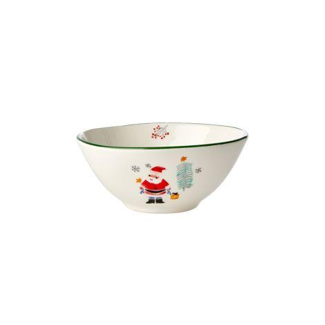 Rice Schüssel Keramik Santa Claus