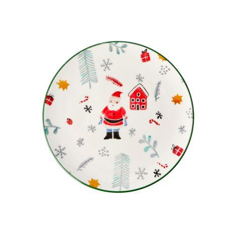 Rice Teller Keramik Santa Claus
