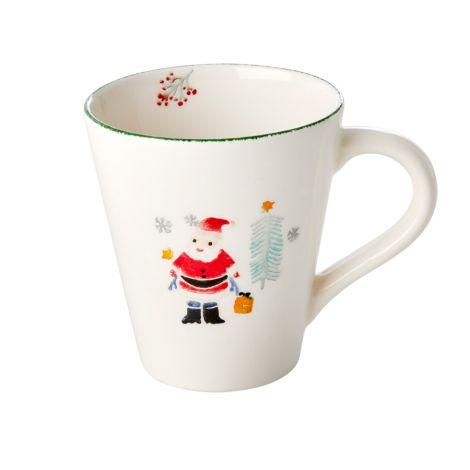 Rice Tasse Keramik Santa Claus