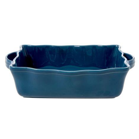 Rice Große Ofenform Keramik Dark Blue