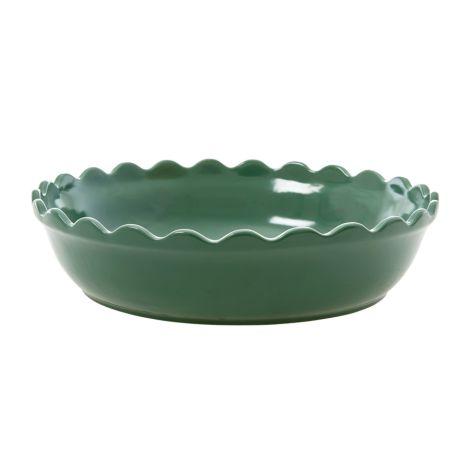 Rice Große Kuchenform Keramik Forest Green