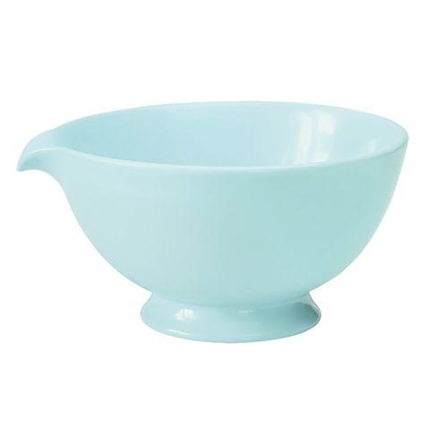 GreenGate Rührschüssel Keramik Thea Mint L •