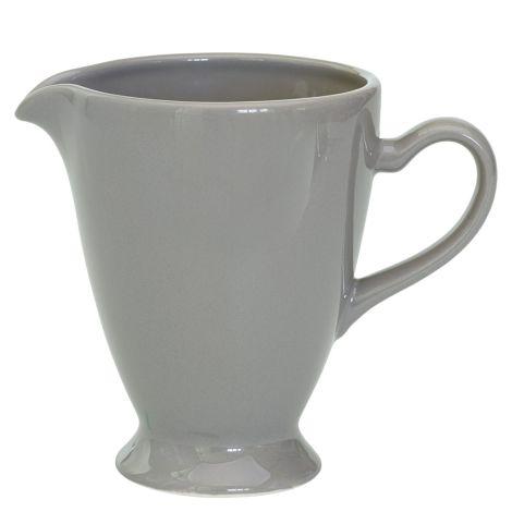 GreenGate Keramik Krug Thea Warm Grey