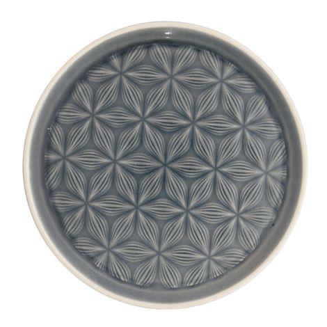 GreenGate Teller Kallia Grey 20,5 cm