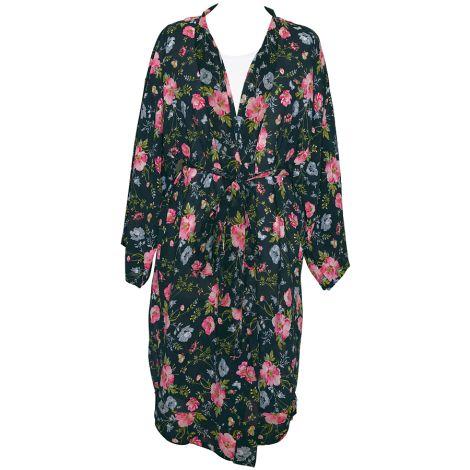 GreenGate Kimono Meadow Black •