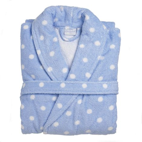 Cath Kidston Kinderbademantel Large Spot Blue