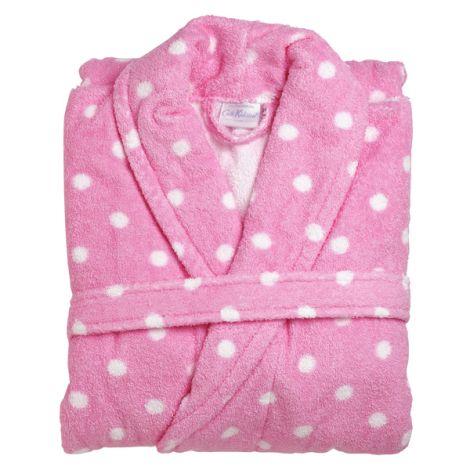 Cath Kidston Kinderbademantel Large Spot Pink