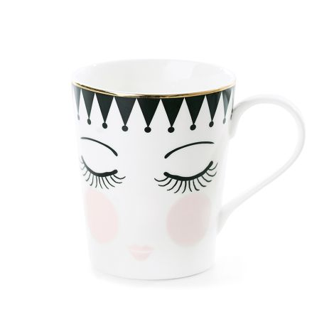 Miss Étoile Kaffeetasse Eyes and Dots