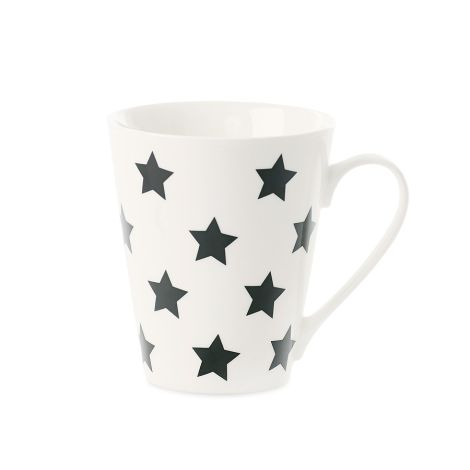Miss Étoile Kaffeetasse Stars Schwarz •