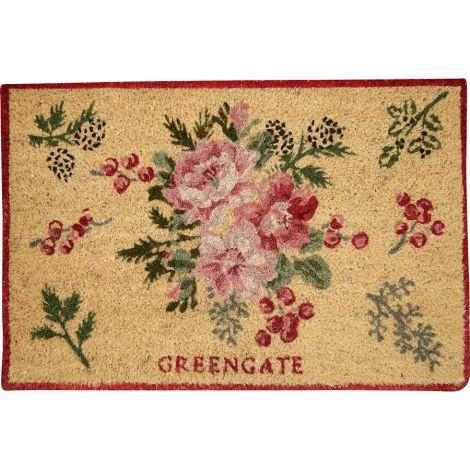 GreenGate Fußmatte Charline White