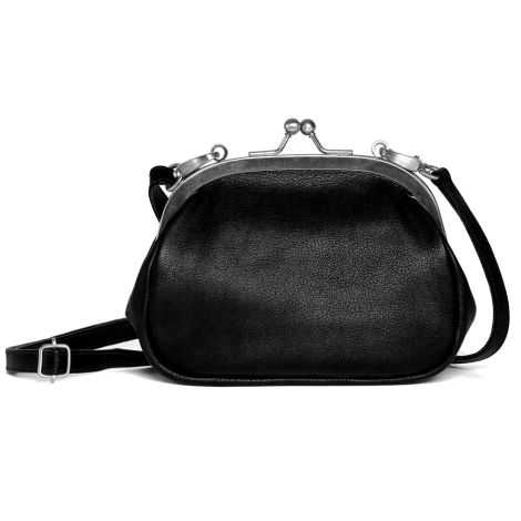 Sticks and Stones Ledertasche Como Black Washed