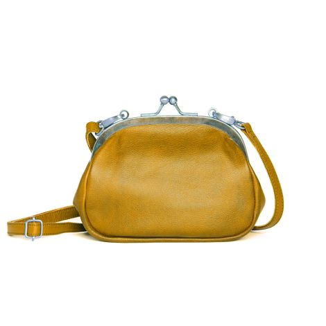 Sticks and Stones Ledertasche Como Honey Yellow Washed