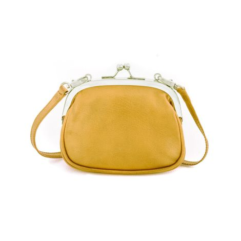 Sticks and Stones Ledertasche Como Yellow Washed