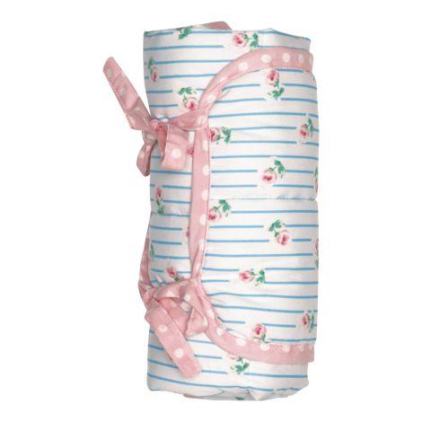GreenGate Baby Wickelunterlage Lily Petit White