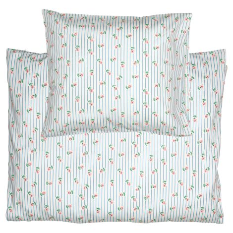 GreenGate Baby Bettwäsche-Set Lily Petit White 70x100cm