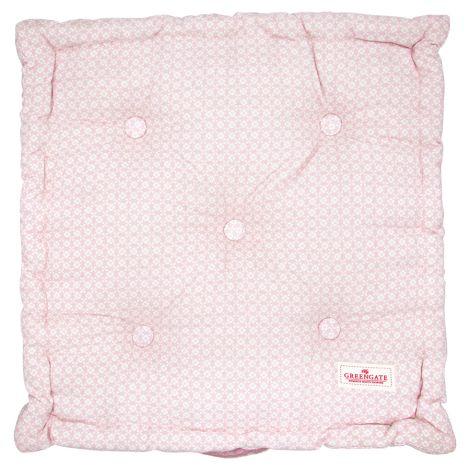 GreenGate Sitzkissen Helle Pale Pink 50x50cm