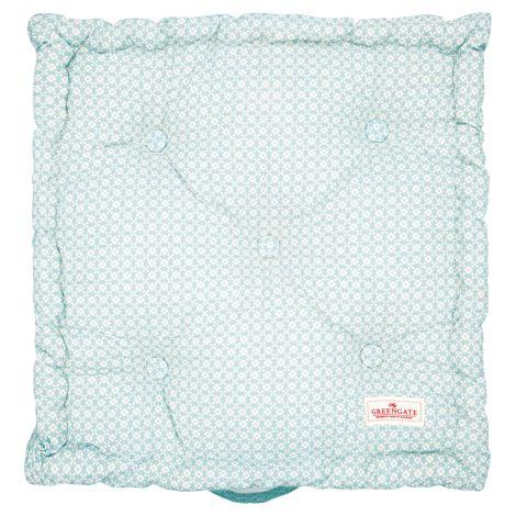 GreenGate Sitzkissen Helle Pale Blue 50x50cm