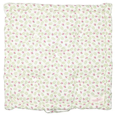 GreenGate Sitzkissen Lily Petit White 50x50cm