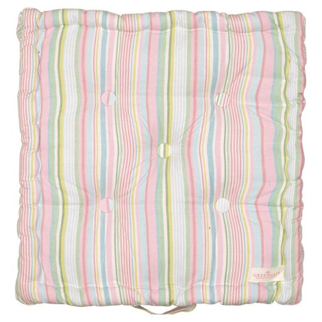 GreenGate Sitzkissenhülle Pipa soft stripe 50x50cm