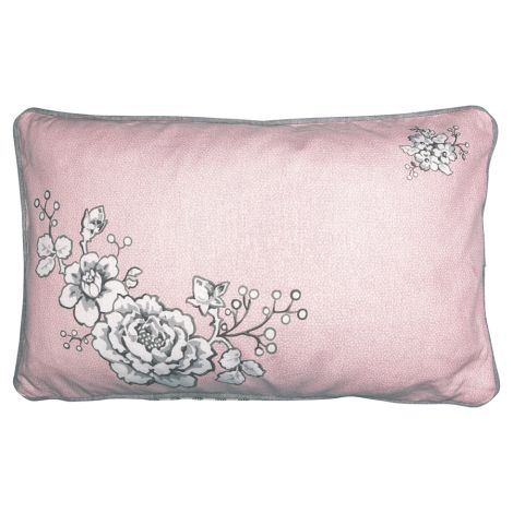 GreenGate Kissenhülle Ella Pale Pink 30x50 •