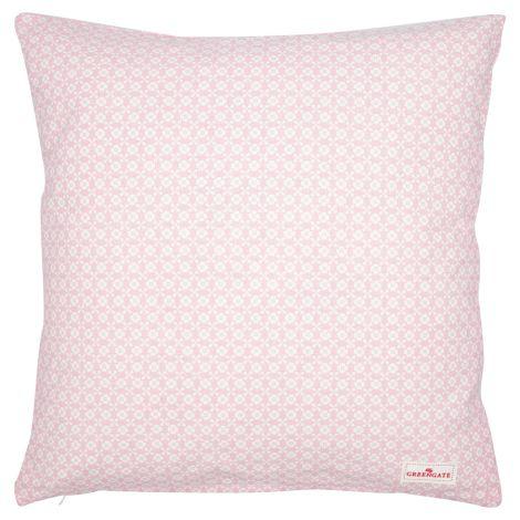 GreenGate Kissenhülle Helle Pale Pink 40x40cm