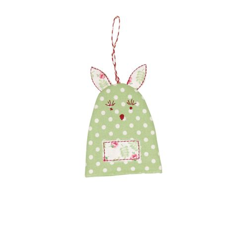 GreenGate Eierwärmer Rabbit Spot Pale Green