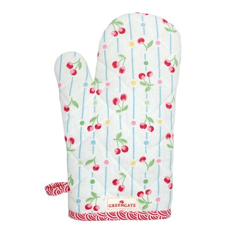 GreenGate Grillhandschuh Cherry White