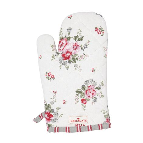 GreenGate Ofenhandschuh Elouise White