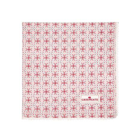 GreenGate Stoffserviette Harper Pale Pink