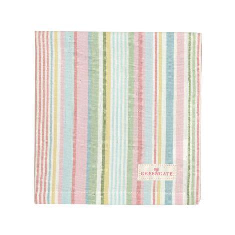 GreenGate Stoffserviette Pipa soft stripe