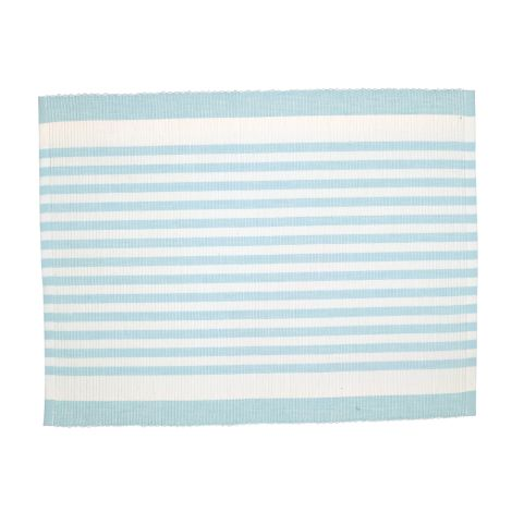 GreenGate Platzset Alice Stripe Pale Blue