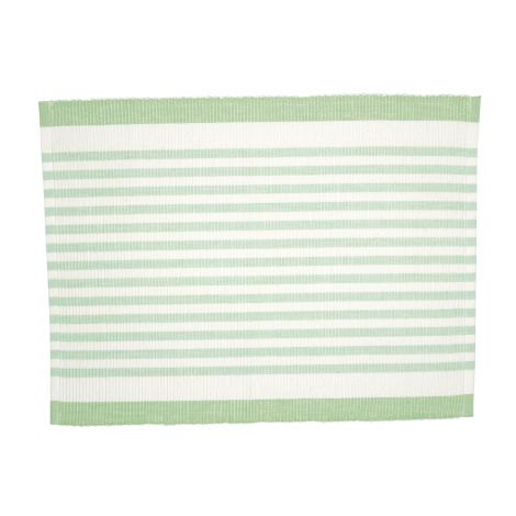 GreenGate Platzset Alice Stripe Pale Green