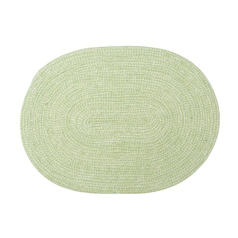 GreenGate Platzset Oval Pale Green