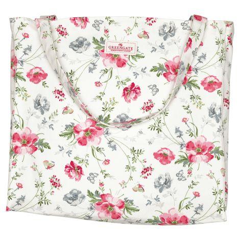 GreenGate Shopper Tasche Meadow White •