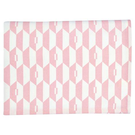 Gate Noir by GreenGate Tischdecke Aurelie Pale Pink 150x150 •