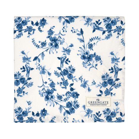 GreenGate Tischdecke Vanessa Blue 150x150
