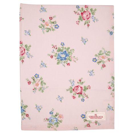 GreenGate Tischdecke Roberta Pale Pink 130x170cm