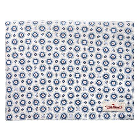 GreenGate Tischdecke Erin Petit Blue 145x250cm