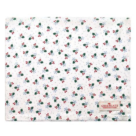 GreenGate Tischdecke Joselyn White 145x250cm •