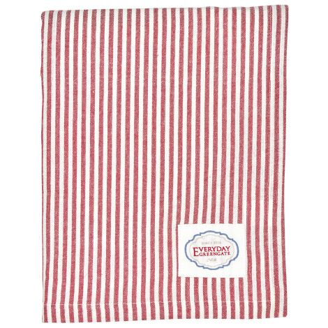 GreenGate Tischdecke Alice Stripe Red
