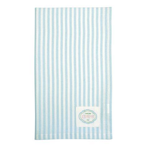 GreenGate Geschirrtuch Alice Stripe Pale Blue