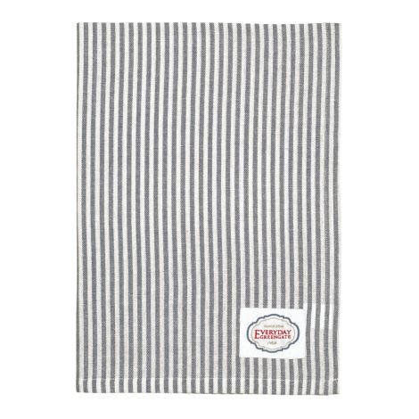 GreenGate Geschirrtuch Alice Stripe Grey