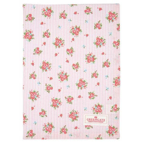 GreenGate Geschirrtuch Abigail Stripe Pale Pink