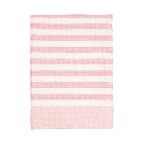 GreenGate Geschirrtuch Waffle Alice Pale Pink