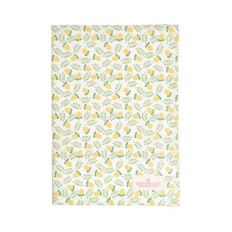 GreenGate Geschirrtuch Limona Petit White