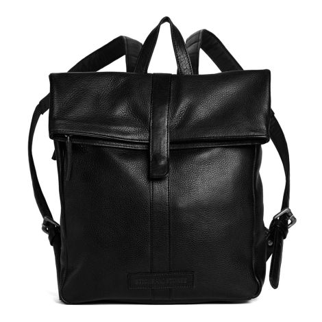 Sticks and Stones Rucksack Courier Cow Black