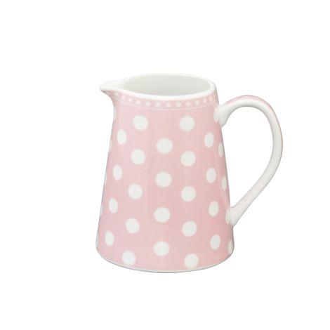 Krasilnikoff Milchkännchen Dots Pink
