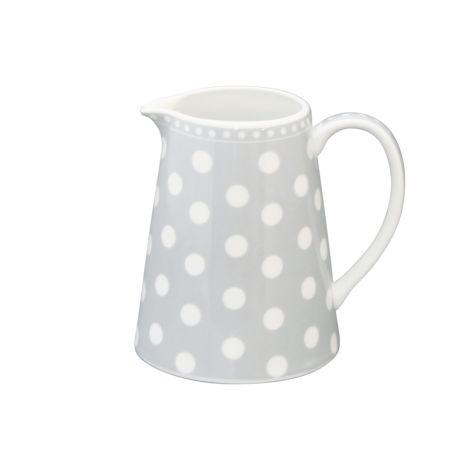 Krasilnikoff Milchkännchen Dots Grey