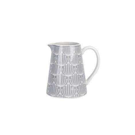 Krasilnikoff Milchkännchen Blossom Grey